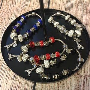 Jewelry - Eiffel Tower Bracelets - 7 inches
